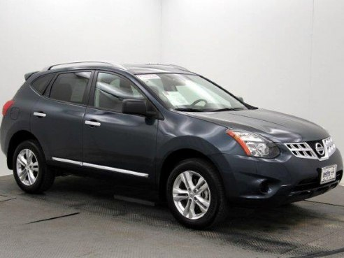 2015 nissan rogue select s for sale weatherford tx 2 5 l 4 cylinder blue. Black Bedroom Furniture Sets. Home Design Ideas