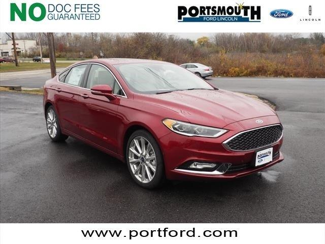 2017 Ford Fusion Ruby Red Metallic Tinted Clearcoat Portsmouth Nh