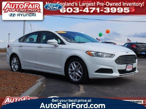 2015 Ford Fusion SE , Manchester, NH