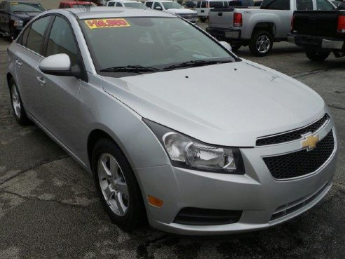 2014 chevrolet cruze 1lt for sale kokomo in 1 4l 4 cylinder silver. Cars Review. Best American Auto & Cars Review