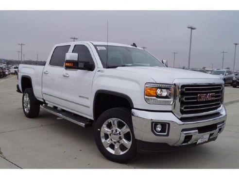 2017 gmc sierra 2500hd slt for sale cleburne tx 6 0 8 cylinder whi. Black Bedroom Furniture Sets. Home Design Ideas