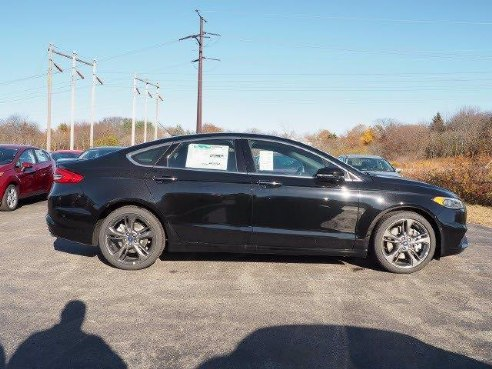 2017 Ford Fusion Sport Shadow Black Portsmouth Nh