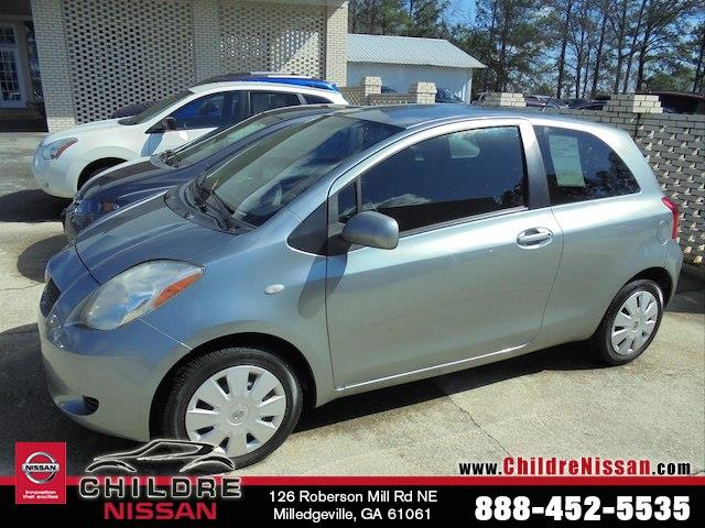 2007 Toyota Yaris Base For Sale Milledgeville Ga 15l 4 Cyls