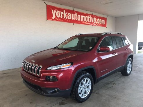 2017 jeep cherokee latitude 4x4 for sale crawfordsville in 2 4 2 4l i4 multiair cylinder deep. Black Bedroom Furniture Sets. Home Design Ideas