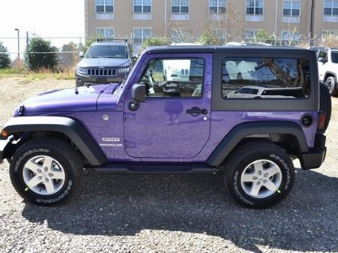 2017 jeep wrangler sport for sale asheville nc 3 6l v6 24v vvt 6 cylinder purple www. Black Bedroom Furniture Sets. Home Design Ideas