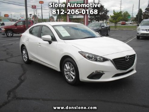 2016 mazda mazda3 i sport at 4 door for sale clarksville in 4 4 cylinder white www. Black Bedroom Furniture Sets. Home Design Ideas