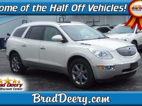 2010 buick enclave cxl 2 for sale maquoketa ia 3 6l 6 cylinder white diamond tricoat www. Black Bedroom Furniture Sets. Home Design Ideas