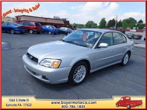 2003 subaru legacy l for sale ephrata pa cylinder silver for Boyer motor co ephrata pa