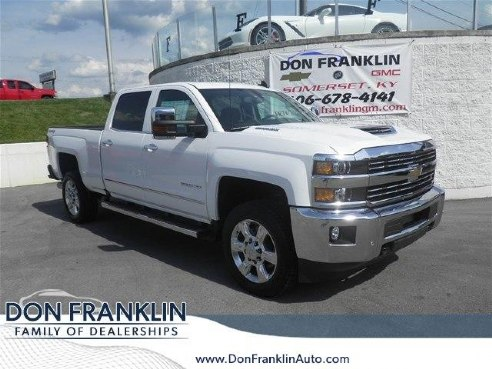 2017 chevrolet silverado 2500hd 4wd crew cab 167 7 ltz for sale somerset ky 6 6l v8 diesel. Black Bedroom Furniture Sets. Home Design Ideas