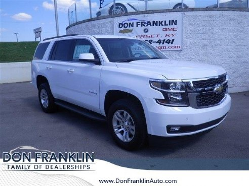 2017 chevrolet tahoe 4wd 4dr lt for sale somerset ky 5. Black Bedroom Furniture Sets. Home Design Ideas