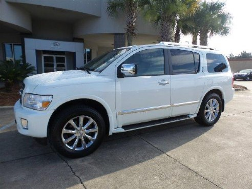 2008 Infiniti Qx56 For Sale Hattiesburg Ms 5 6l 8