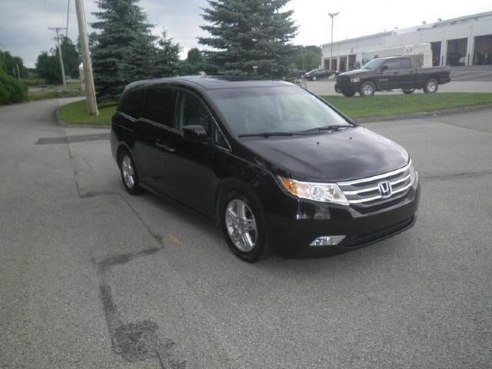 2012 honda odyssey touring elite for sale somerset pa 3 5l v6 cylinder crystal black pearl. Black Bedroom Furniture Sets. Home Design Ideas