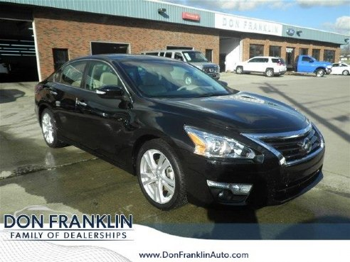 2015 nissan altima 3 5 sl for sale somerset ky 3 5l v6 cylinder black. Black Bedroom Furniture Sets. Home Design Ideas