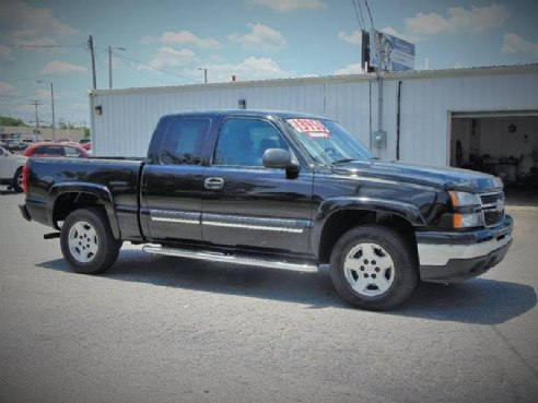 2006 chevrolet silverado 1500 lt1 4dr extended cab 5 8 ft sb for sale webb city mo 5 3l v8 5. Black Bedroom Furniture Sets. Home Design Ideas