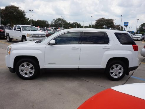 2011 gmc terrain sle 1 fwd for sale baton rouge la 2 4l 4cyl cylinder olympic white www. Black Bedroom Furniture Sets. Home Design Ideas