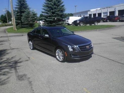 2017 Cadillac ATS Luxury AWD Phantom Gray Metallic, Somerset, PA