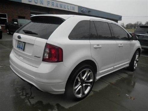Ford Edge Sport White Platinum Tri Coat Metallic Somerset Ky