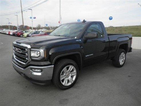 2017 gmc sierra 1500 4wd regular cab 119 0 sle for sale somerset ky 4 3l v6 cylinder onyx. Black Bedroom Furniture Sets. Home Design Ideas