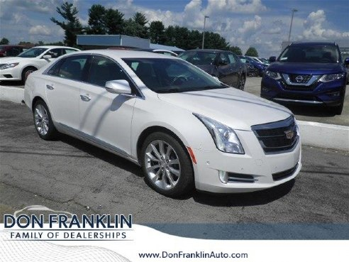 2016 cadillac xts luxury collection for sale somerset ky 3 6l v6 cylinder white www. Black Bedroom Furniture Sets. Home Design Ideas