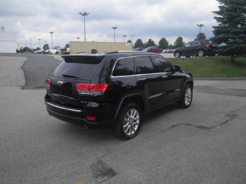 2017 Jeep Grand Cherokee Limited Diamond Black Crystal Pearlcoat Somerset Pa