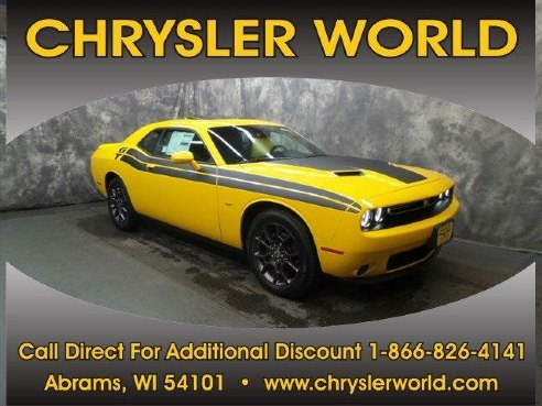 2018 dodge challenger gt for sale abrams wi 3 6 l. Cars Review. Best American Auto & Cars Review