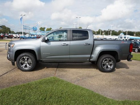 Chevy Certified Pre Owned >> 2018 Chevrolet Colorado Z71 4WD 128WB for sale, Baton Rouge LA, 3.6L V6 Cylinder,Satin Steel ...