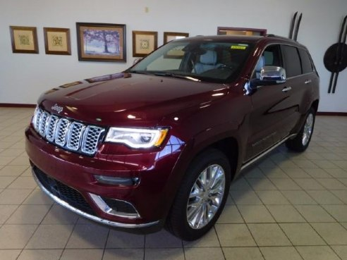 2018 jeep grand cherokee summit 4x4 for sale kaukauna wi 6 cylinder velvet red pearlcoat www. Black Bedroom Furniture Sets. Home Design Ideas