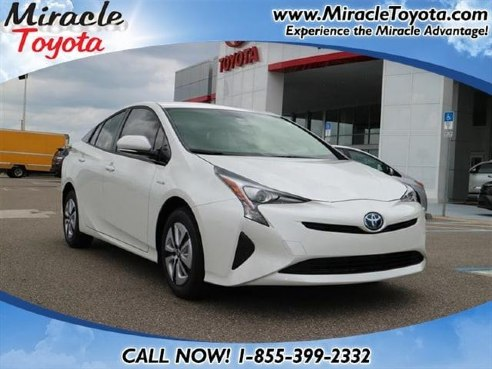 2017 toyota prius two eco for sale winter haven fl cylinder white id. Black Bedroom Furniture Sets. Home Design Ideas