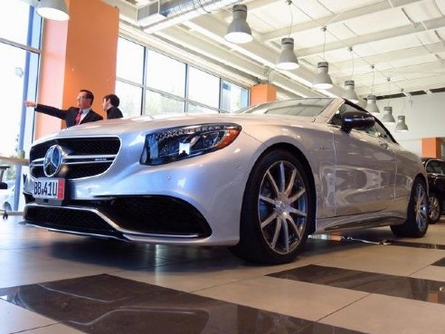 2017 mercedes benz s class cabriolet s 63 amg for sale for Elite mercedes benz springfield missouri