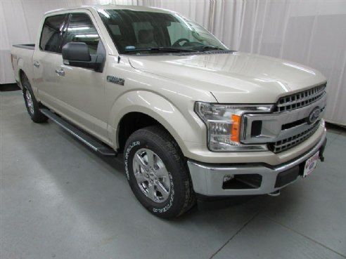 2018 Ford F-150 XLT for sale, Kenyon MN, 5.0L V8 385hp 387ft. lbs. 6 Cylinder,WHITE GOLD - www ...