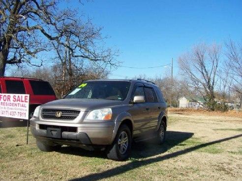 2004 Honda Pilot EX L 4dr 4WD SUV w/Leather for sale, Joplin MO, 3.5L V6 3.5L V6 Cylinder,Tan ...