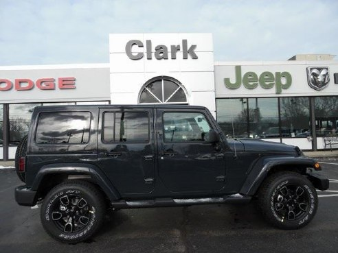 2018 Jeep Wrangler JK Unlimited Altitude Black, Methuen, MA