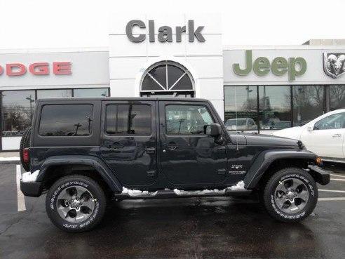 2018 Jeep Wrangler JK Unlimited Sahara Black, Methuen, MA