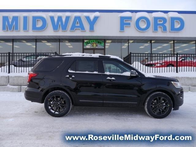 2018 Ford Explorer Xlt For Sale Roseville Mn 3 5l Ti Vct