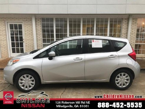 2016 nissan versa note s plus for sale milledgeville ga 1 6l 4 cyls cylinder brilliant silver. Black Bedroom Furniture Sets. Home Design Ideas