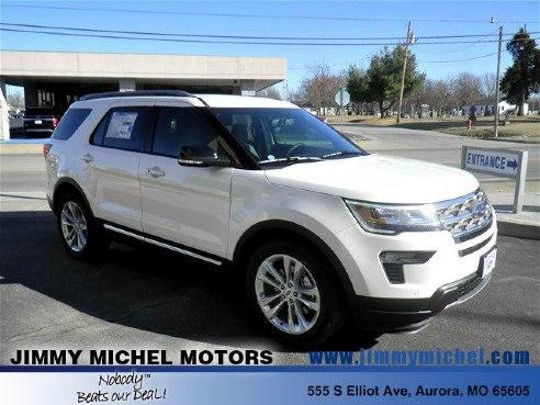 2018 ford explorer xlt for sale aurora mo 3 5l v6 for Jimmy michel motors aurora mo