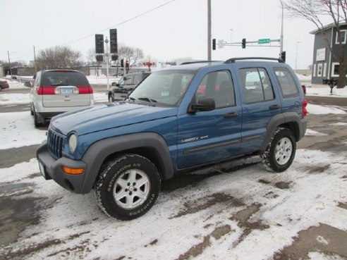 2003 Jeep Liberty Sport Blue, Fairmont, MN