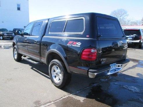 2002 ford f 150 crew cab xlt 4x4 fx4 for sale fairmont mn 5 4 v8 cylinder black www. Black Bedroom Furniture Sets. Home Design Ideas