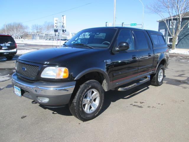 2002 Ford F 150 Crew Cab Xlt 4x4 Fx4 For Sale Fairmont Mn 5 4 V8