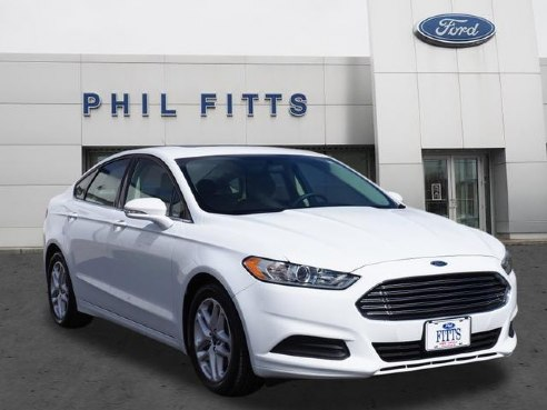 2015 ford fusion se for sale new castle pa 1 5 4 cylinder white id. Black Bedroom Furniture Sets. Home Design Ideas
