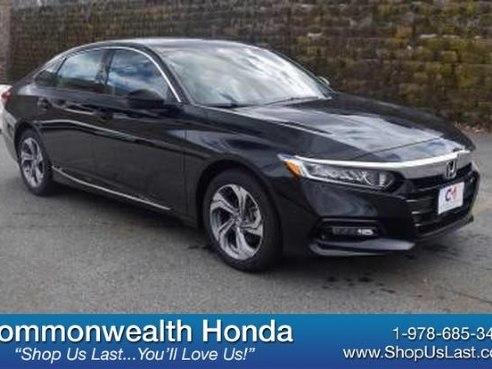 2018 Honda Accord Sedan EX-L Crystal Black Pearl, Lawrence, MA