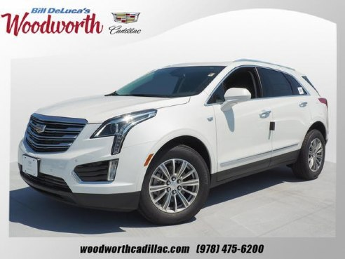 2019 Cadillac Xt5 Luxury For Sale Andover Ma 3 6 6 Cylinder White
