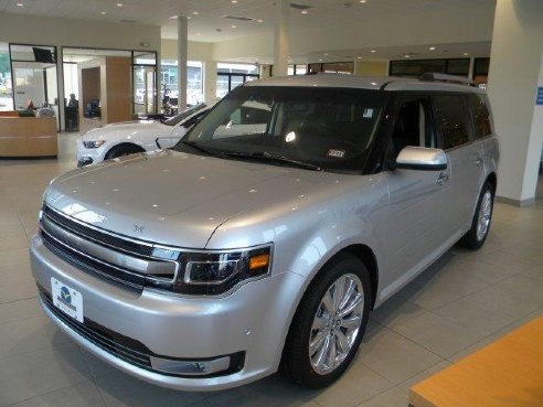 Ford Flex Limited Ecoboost Silver Exeter Nh