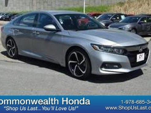 2018 Honda Accord Sedan Sport For Sale Lawrence Ma 1 5l 4 Cyl