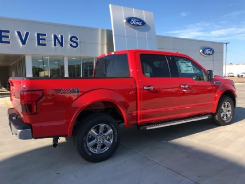 Ford F  Lariat Red Enid Ok