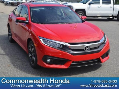 2018 Honda Civic Sedan Touring For Sale Lawrence Ma Cylinder