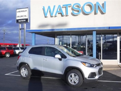 2020 Chevrolet Trax Ls For Sale Blairsville Pa 1 4l 4 Cyl 4 Cylinder Silver Ice Metallic Www Cartrucktrader Com Id 556142352