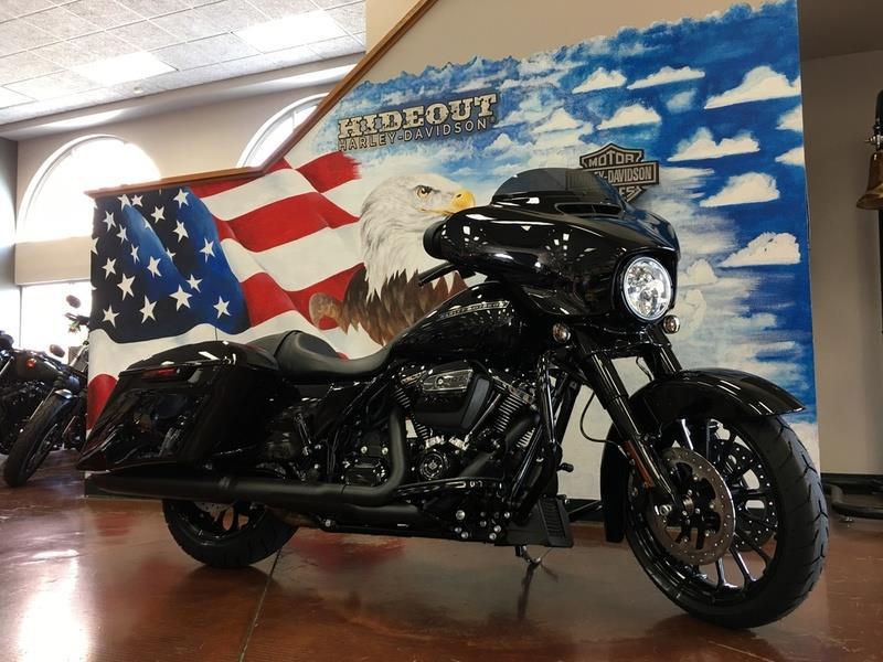 Harley Sport Glide >> 2018 Harley Davidson FLHXS - Street Glide Special for sale, Joplin MO, 107 Cylinder,Vivid Black ...