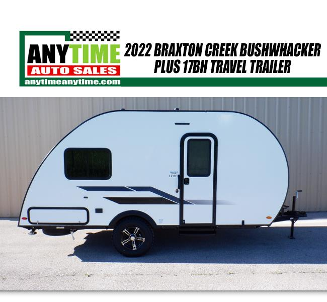 2021 Braxton Creek Bushwhacker Plus 17BH Travel Trailer - $16,990 White, Rapid City, SD